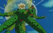Cell z przyszłości Trunksa kontra Trunks z przyszłości (21)