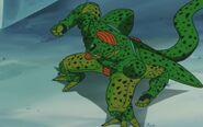 Cell z przyszłości Trunksa kontra Trunks z przyszłości (9)