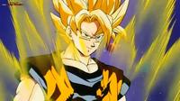 Goku w walce z Yakonem na Gwieździe Mroku