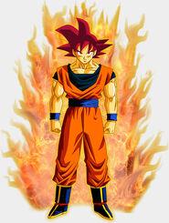Super Saiyanin God fanart (1)