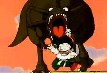 Dinozaur gon gohana