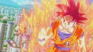 Son Gokū Super Saiyanin God (08)