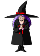 Stara Wiedźma, fanart, autor TheRyuk4