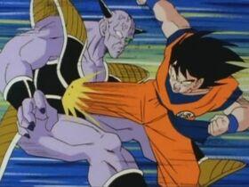 Goku kontra Kapitan Ginyu (2)