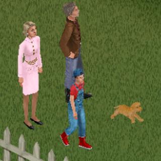 Rodzina Szmer w The Sims: Zwierzaki