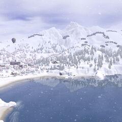 Sunset Valley zimą
