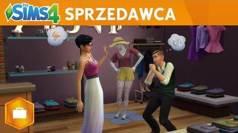The Sims 4 Witaj w Pracy Sprzedawca - Oficjalny Zwiastun