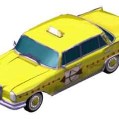 Taksówka w The Sims