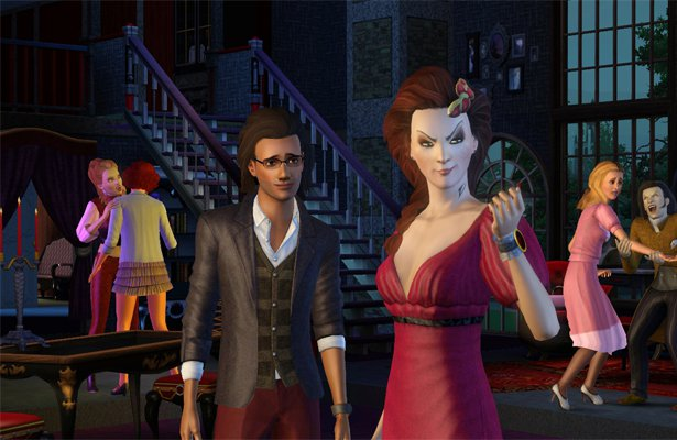 dating a vampire sims 3 The sims 3 is the third major title in the life simulation video game developed by the sims  2009, ea announced the release of a vampire theme pack for the iphone .