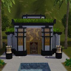 Katakumby na Cmentarzu