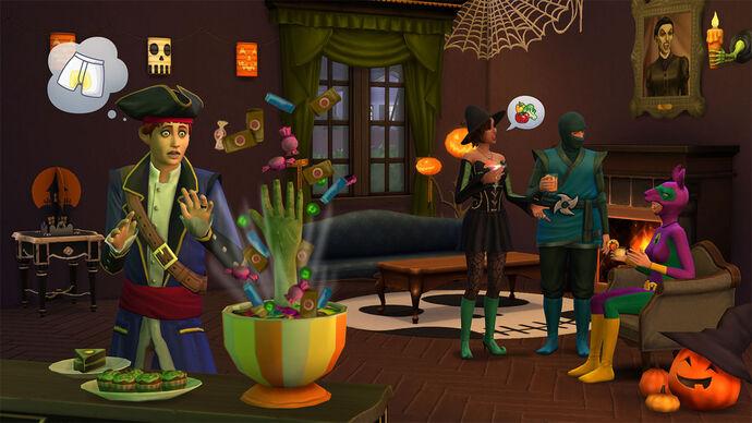 The Sims 4: Upiorności