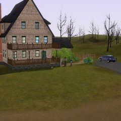 Dom rodziny Kuriozum w The Sims 3