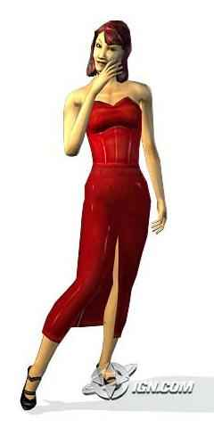 Bella Goth The Sims Bustin' Out