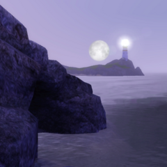 Zachód Księżyca w Sunset Valley