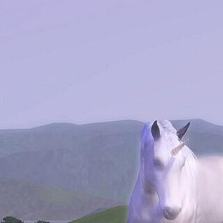 Jednorożec z The Sims 3: Zwierzaki