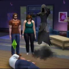 Mroczny Kosiarz w <i>The Sims 4</i>