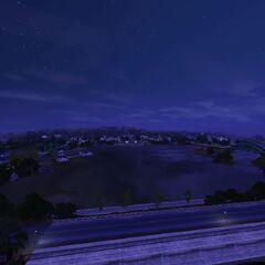 Twinbrook nocą