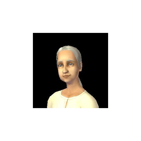 Judyta jako staruszka