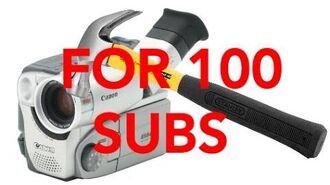 Bored Smashing - Camcorder! (100 Subscriber Special!)