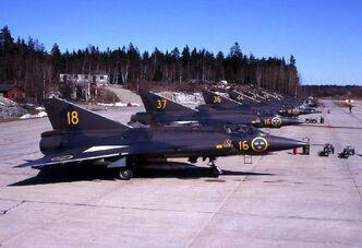 Saab Draken J 35A-02