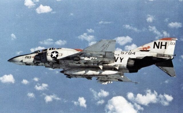 File:F-4J Phantom VF-114 in flight 1972.jpg