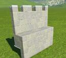 Castle Wall Parapet Extension
