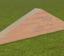 Classic Brick Wall 1m Gable End