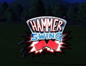 Ride Sign - Hammer Swing at night