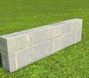 Castle Wall 1m