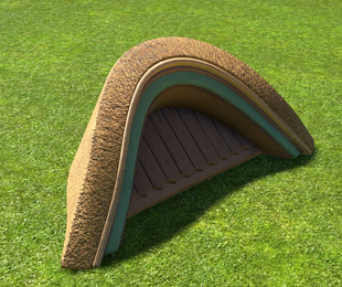 Thatch Roof Awning - Planet Coaster