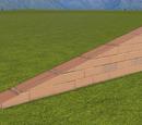 Classic Brick Wall 1m Slope