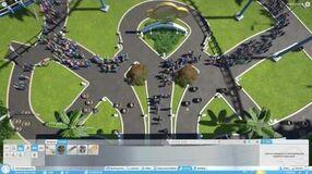 Planet Coaster GamesCom 2016 - Crowd Improvements
