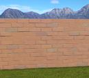 Classic Brick Wall 2m