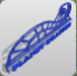 Planet Coaster Large Rail Sign icon
