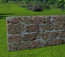 Sandstone Wall 2m