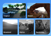 Planet Coaster Sandbox options