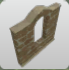 Sandstone Wall Top Belltower icon
