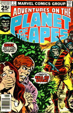 Adventures on the Planet of the Apes 7