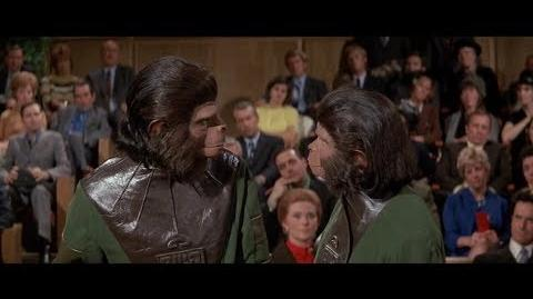 Escape from the Planet of the Apes (1971) Zira doesn't like gorillas