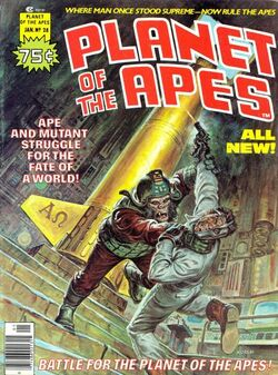 Planet of the Apes Magazine 28