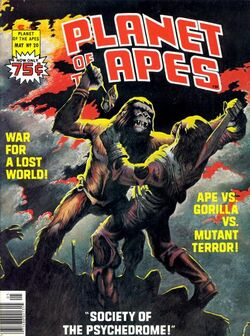 Planet of the Apes Magazine 20