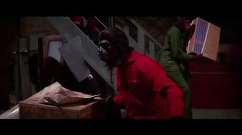Conquest of the Planet of the Apes (1972) Caesar builds the revolution part 4