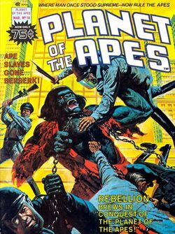 Planet of the Apes Magazine 18