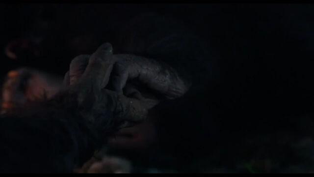 File:Caesar holds Cornelia's hand as she gives birth.jpg
