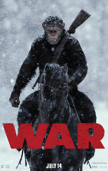 File:War For The Planet Of The Apes Official Teaser Poster.jpg