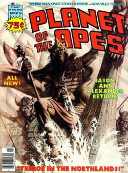 Planet of the Apes Magazine 26
