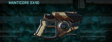 Indar scrub pistol manticore sx40