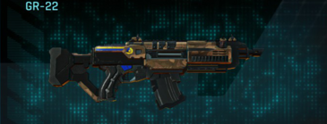Indar plateau assault rifle gr-22