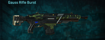 Amerish forest assault rifle gauss rifle burst