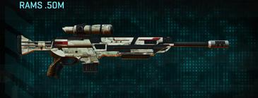 Indar dry ocean sniper rifle rams .50m